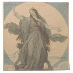 Liberty Goddess Printed Napkins