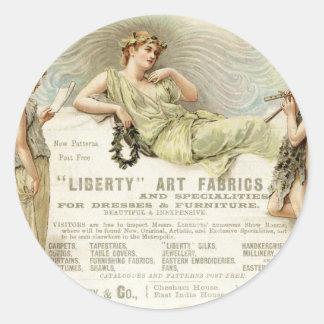Liberty Gondoliers Classic Round Sticker
