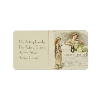 Liberty Gondoliers Personalized Address Label