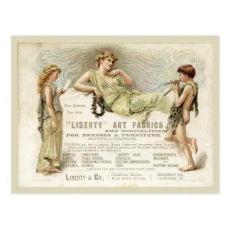 Liberty Gondoliers Postcard