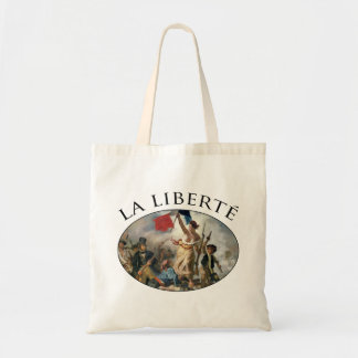 Liberty Guiding the People Tote Bag