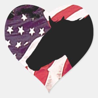 Liberty Heart Sticker