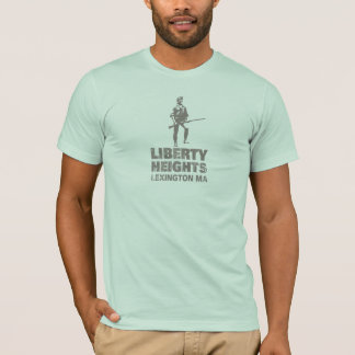 Liberty Heights Gray Stacked (Men's Tee) T-Shirt