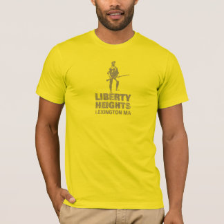 Liberty Heights Olive Stacked (Men's Tee) T-Shirt