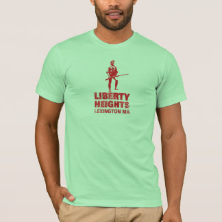 Liberty Heights Red Stacked (Men's Tee) T-Shirt