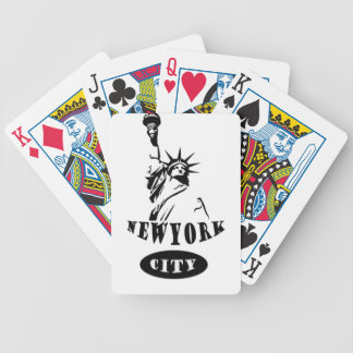 Liberty In new york city Bicycle Playing Cards