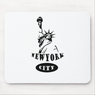 Liberty In new york city Mouse Pad