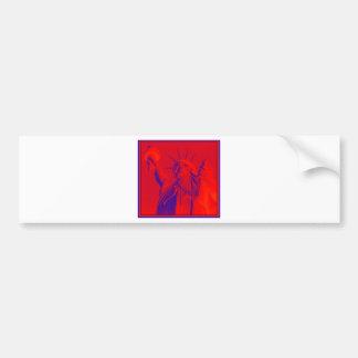Liberty in REDDD Bumper Sticker