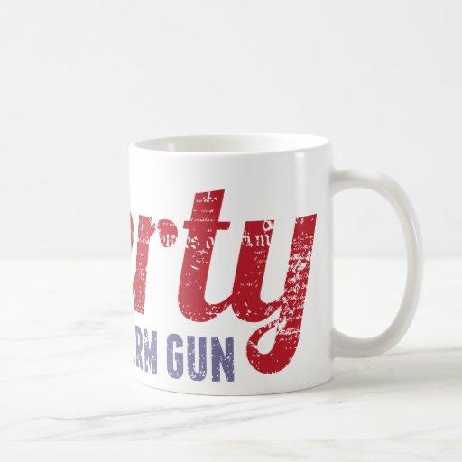 Liberty is a Warm Gun Mugs