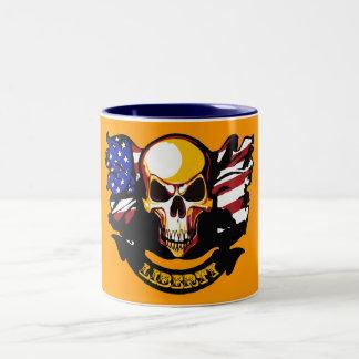 Liberty Is Not Free Two-Tone Coffee Mug