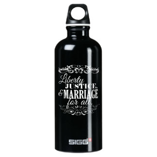 LIBERTY JUSTICE AND MARRIAGE FOR ALL -.png SIGG Traveler 0.6L Water Bottle