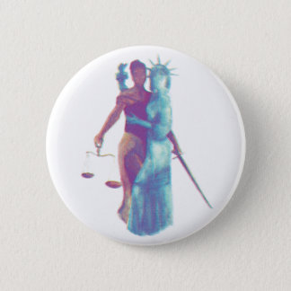 Liberty & Justice For All Pinback Button