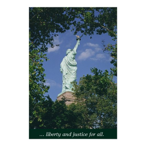 Liberty & Justice for All Print