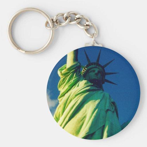 liberty lady keychain