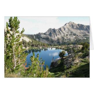 Liberty Lake, Ruby Mtns NV Card