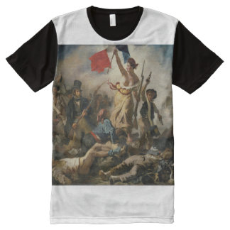 Liberty Leading the People All-Over-Print T-Shirt