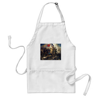 Liberty Leading the People by Eugene Delacroix Adult Apron
