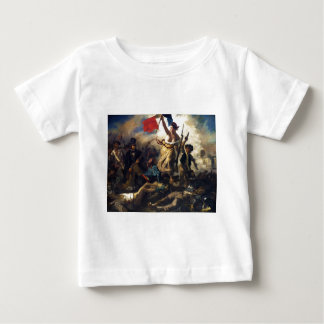 Liberty Leading the People by Eugene Delacroix Baby T-Shirt
