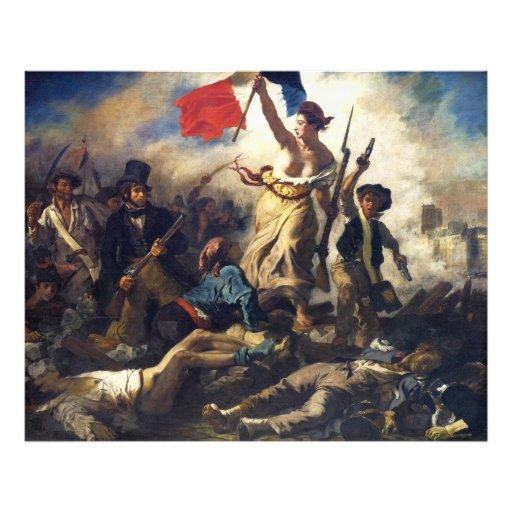 Liberty Leading the People by Eugène Delacroix Photo Print