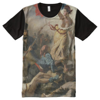 Liberty Leading the People Zoom All-Over-Print T-Shirt