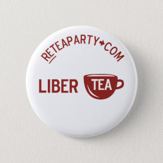 Liberty Libertea Tea Party Button