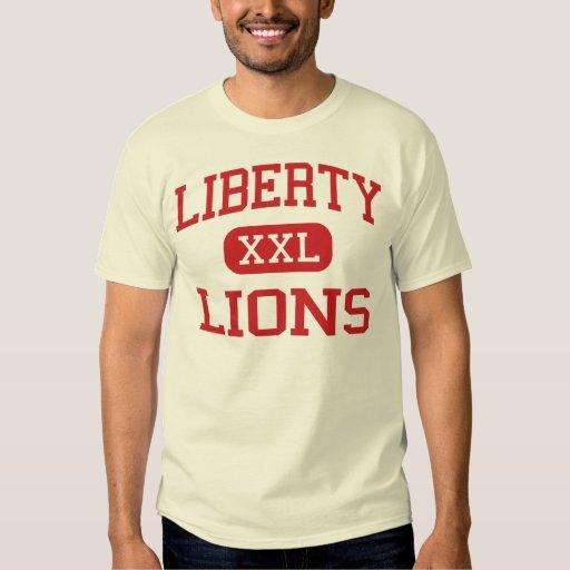 Liberty lions high school peoria arizona t shirt for T shirt printing peoria az
