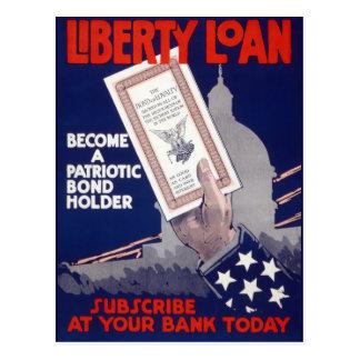 Liberty Loan Postcard
