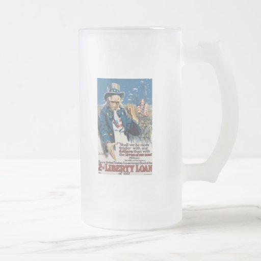 Liberty Loans World War 2 Mug