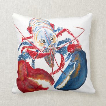 LIBERTY LOBSTER Pillow