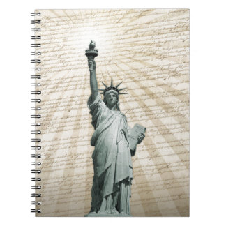 Liberty Loves The Constitution Notebook