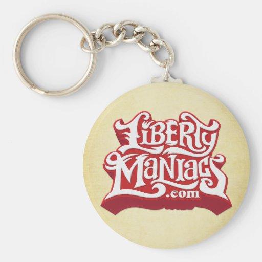 Liberty Maniacs Keychain