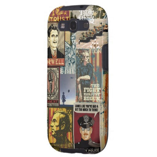 Liberty Maniacs Poster Collage Samsung Galaxy S3 Cases