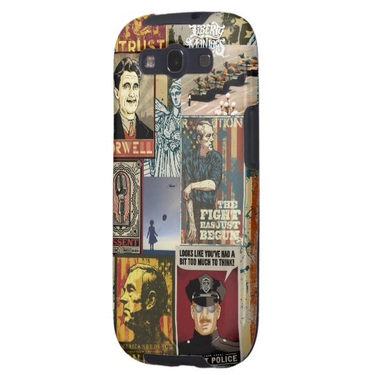 Liberty Maniacs Poster Collage Galaxy SIII Case
