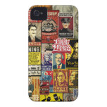 Liberty Maniacs Poster Collage iPhone 4/4S Cases iPhone 4 Case-Mate Cases