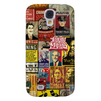 Liberty Maniacs Poster Collage iPhone 4/4S Cases
