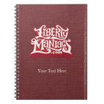 Liberty Maniacs Vintage Notebook