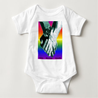 Liberty Marriage Equality Baby Bodysuit
