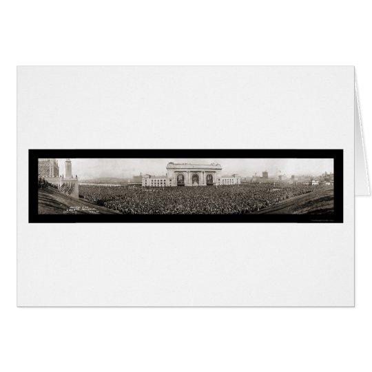Liberty Memorial MO Photo 1921 Card