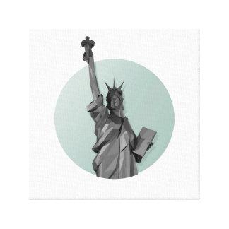 Liberty . New york Canvas Print