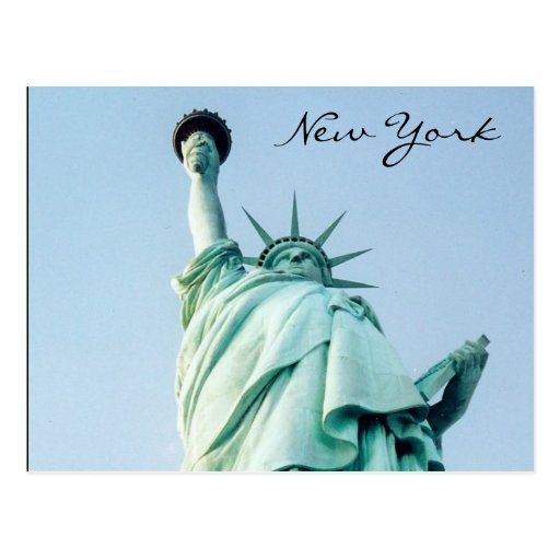 liberty nyc post cards