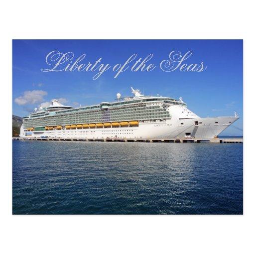 Liberty of the Seas - Royal Caribbean Cruise Lines Post Card