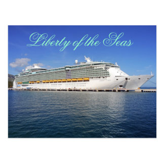 Liberty of the Seas - Royal Caribbean Cruise Lines Post Cards