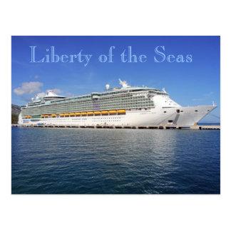 Liberty of the Seas - Royal Caribbean Cruise Lines Postcard