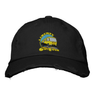 Liberty on your hat1 embroidered baseball cap