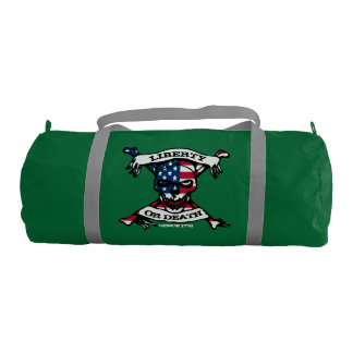 Liberty Or Death Duffle Gym Bag