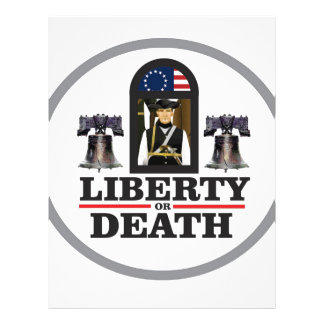 liberty or death letterhead