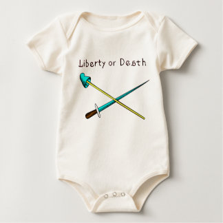 Liberty or Death, Will Bratton Baby Bodysuit
