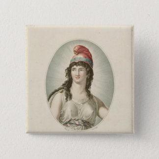 Liberty, Patron of the French, engraved by Ruotte Button