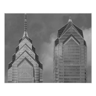 Liberty Place One & Two Photo Print
