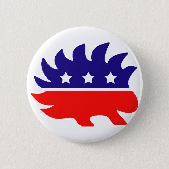 Liberty porcupine button